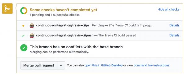 Integracja Travis + GitHub